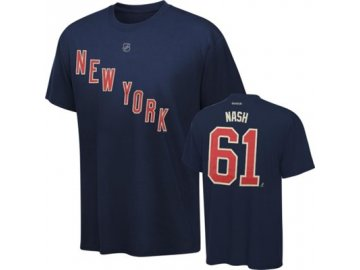 Tričko Rick Nash #61 New York Rangers Third