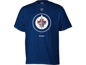Tričko Winnipeg Jets Primary Logo - modré