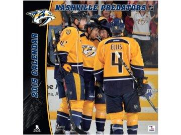 NHL kalendář 2015 Nashville Predators