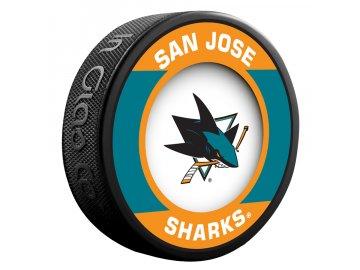 Puk San Jose Sharks Retro