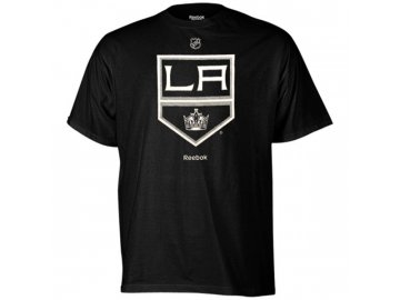 Tričko - Primary Logo - Los Angeles Kings - černé