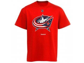 Tričko - Primary Logo - Columbus Blue Jackets - červené