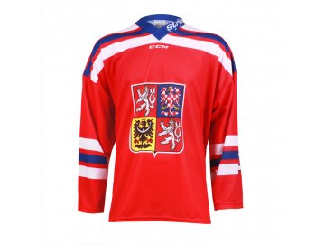 Dres Czech Ice Hockey Team CCM sublimace - červený