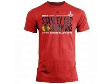 Tričko Chicago Blackhawks 2015 Stanley Cup Champions Braun