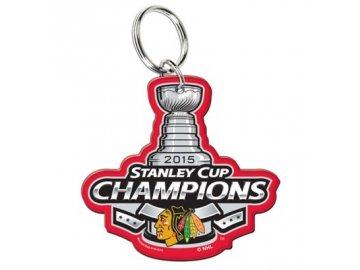KLÍČENKA CHICAGO BLACKHAWKS 2015 STANLEY CUP CHAMPIONS