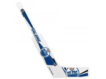 Plastová Minihokejka Edmonton Oilers Goalie