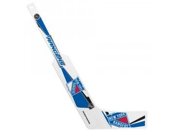 Plastová Minihokejka New York Rangers Goalie