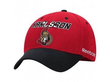 Kšiltovka Ottawa Senators Structured Flex 15 - Erik Karlsson #65