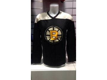 Tričko Boston Bruins Long Sleeve Crew 15