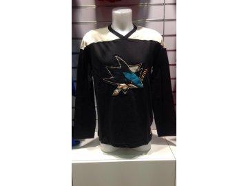 Tričko San Jose Sharks Long Sleeve Crew 15