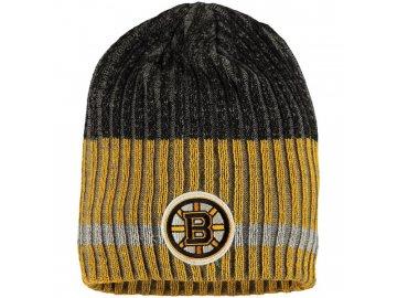 Zimní čepice Boston Bruins Reebok Face-Off Heathered Knit Beanie