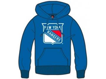 Mikina New York Rangers Majestic Bember Hoody