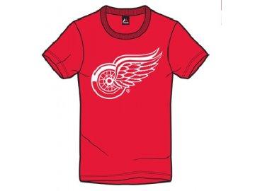 Tričko Detroit Red Wings Majestic Jask - červené