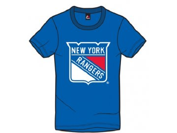 Tričko New York Rangers Majestic Jask - navy