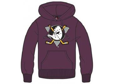 Dětská mikina Anaheim Ducks Majestic Ning Hoody