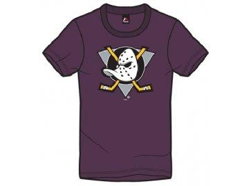 Dětské Tričko Anaheim Ducks Majestic Rotal Logo Tee