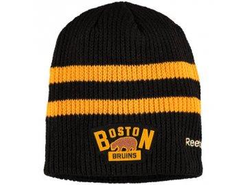Zimní Čepice Boston Bruins Winter classic Beanie - Černá