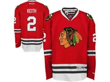 Dres Duncan Keith #2 Chicago Blackhawks Premier Jersey Home
