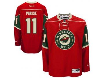 Dres Zach Parise #11 Minnesota Wild Premier Jersey Home