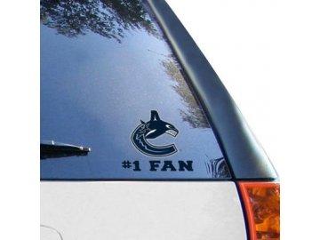 Samolepka Vancouver Canucks #1 Fan