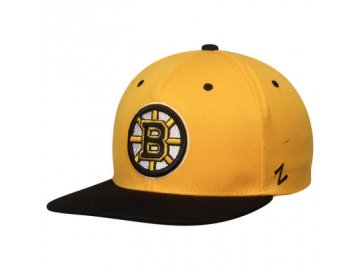 Kšiltovka Boston Bruins Zephyr Z11 Snapback Gold