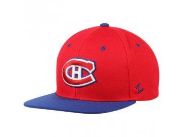 Kšiltovka Montreal Canadiens Zephyr Z11 Snapback červená 5d8f7da890