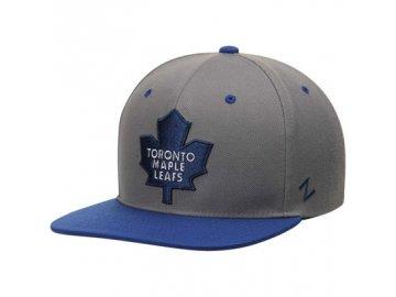 Kšiltovka Toronto Maple Leafs Zephyr Z11 Snapback šedá