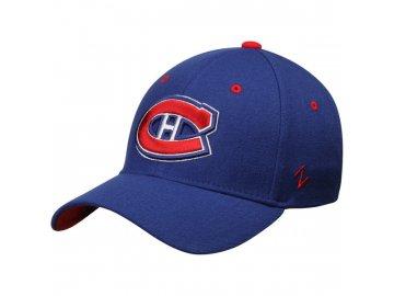 Kšiltovka Montreal Canadiens Zephyr Breakaway Flex modrá 5237241037