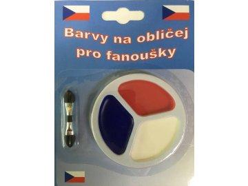 Barvy na obličej Czech