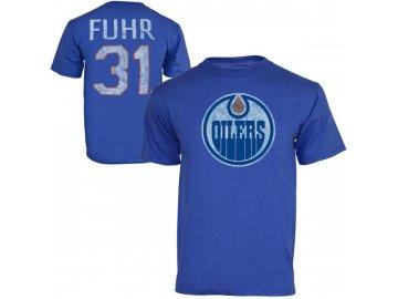 Tričko #31 Grant Fuhr Edmonton Oilers Legenda NHL