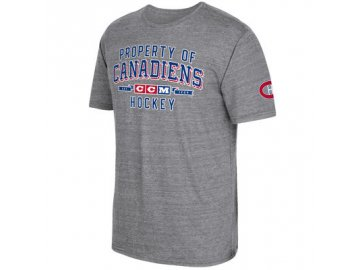 Tričko Montreal Canadiens CCM Property Block Tri-Blend
