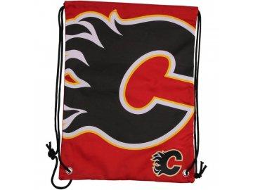 NHL vak Calgary Flames Big Logo Drawstring