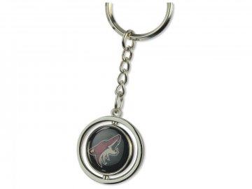 Přívěšek na klíče Arizona Coyotes Puck Spinning Ring