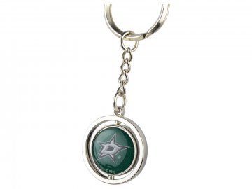 Přívěšek na klíče Dallas Stars Puck Spinning Ring