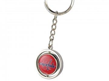 Přívěšek na klíče Washington Capitals Puck Spinning Ring