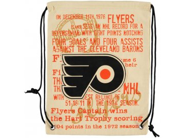 NHL vak Philadelphia Flyers Historic Canvas Drawstring
