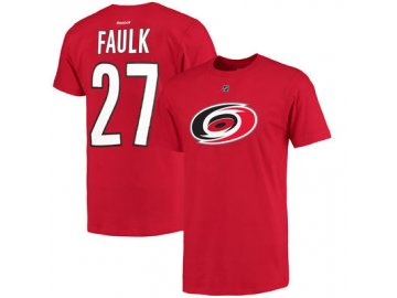 Tričko #27 Justin Faulk Carolina Hurricanes