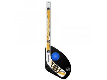 Plastová Minihokejka Boston Bruins Hat Trick