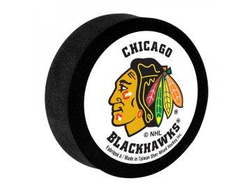 Pěnový puk Chicago Blackhawks
