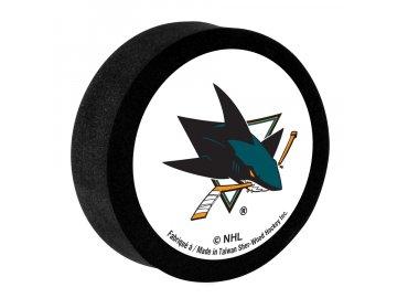 Pěnový puk San Jose Sharks