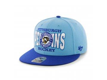 Kšiltovka Pittsburgh Penguins First Class Snapback