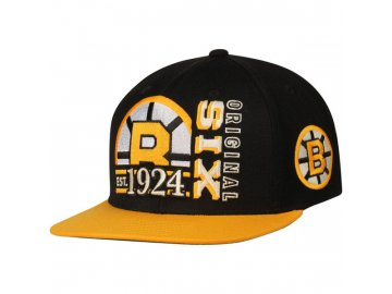 Kšiltovka Boston Bruins Original 6 Snapback