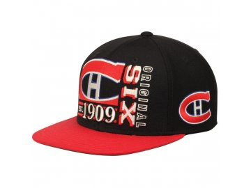 Kšiltovka Montreal Canadiens Original 6 Snapback