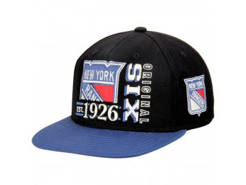 Kšiltovka New York Rangers Original 6 Snapback