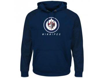 Mikina Winnipeg Jets Majestic Penalty Shot Therma Base Hoodie
