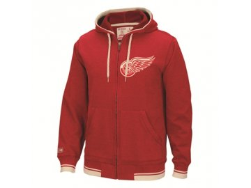 Mikina Detroit Red Wings Full Zip Hood 2016