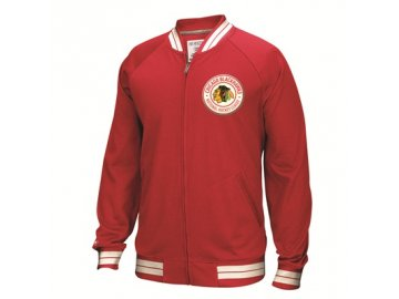 Mikina Chicago Blackhawks Full Zip Track Jacket 2016
