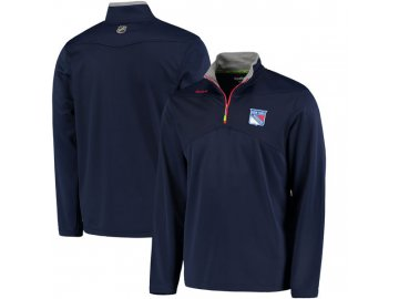Mikina New York Rangers Center Ice Quarter-Zip Baselayer