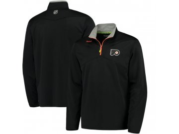 Mikina Philadelphia Flyers Center Ice Quarter-Zip Baselayer