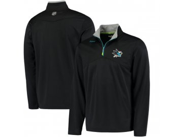 Mikina San Jose Sharks Center Ice Quarter-Zip Baselayer